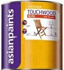 WoodTech Touchwood 1KPU Oak Yellow