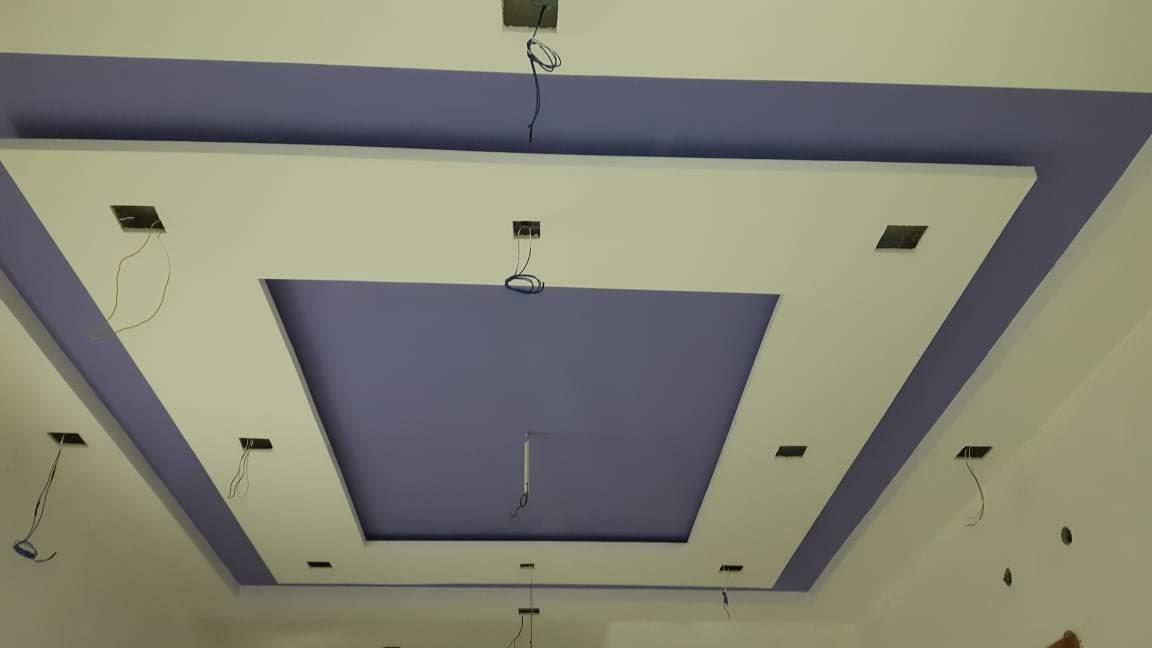 Violet False Ceiling Design